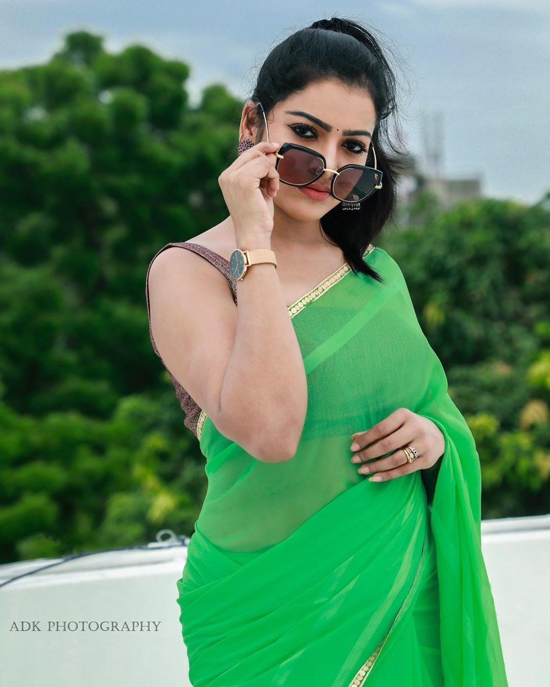 நடிகை சித்ரா (படம் : இன்ஸ்டாகிராம்)