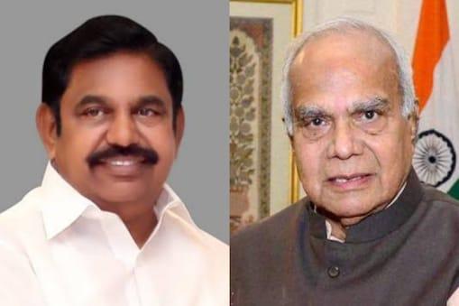 முதலமைச்சர் பழனிசாமி - ஆளுநர் பன்வாரிலால் புரோகித்