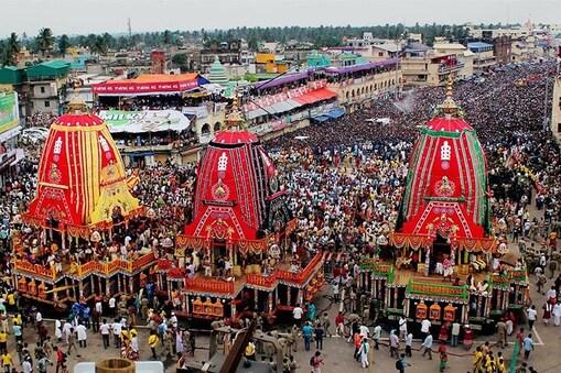 புரி ஜெகநாதர் ஆலய தேரோட்டம் (கோப்புப்படம்)