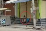 கொரோனா பாதித்த தாயை பேருந்து நிலையத்தில் விட்டுச் சென்ற மகன்