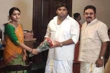 டி.டி.வி.தினகரன் மகள் ஜெயஹரிணி நிச்சயதார்த்தம் புதுச்சேரியில் நடைபெற்றது