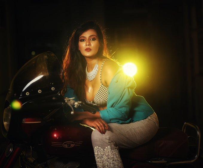 நடிகை மீரா மிதுன் (image: Twitter)