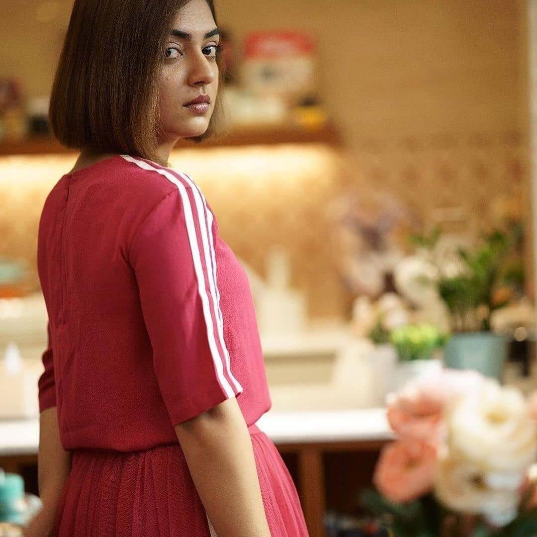 நடிகை நஸ்ரியா (படங்கள் - ட்விட்டர் )