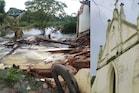 கேரளாவில் இடிந்து விழுந்த 151 ஆண்டுகால பழமையான தேவாலயம்
