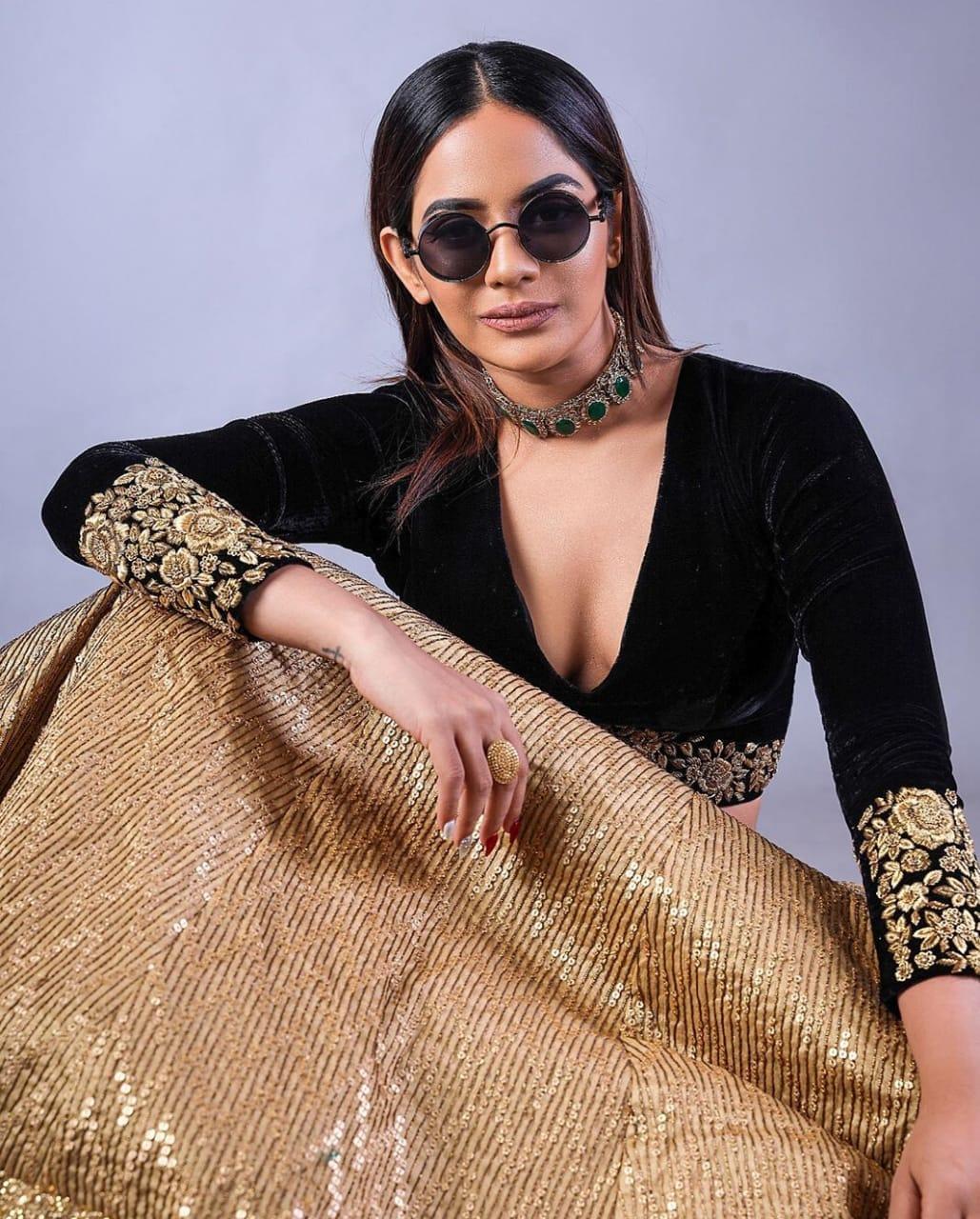 நடிகை ஐஸ்வர்யா தத்தா (படங்கள் - இன்ஸ்டாகிராம்)