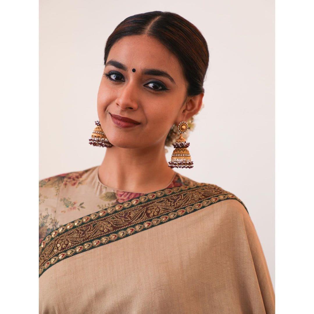 நடிகை கீர்த்தி சுரேஷ் (படங்கள் - இன்ஸ்டாகிராம்)