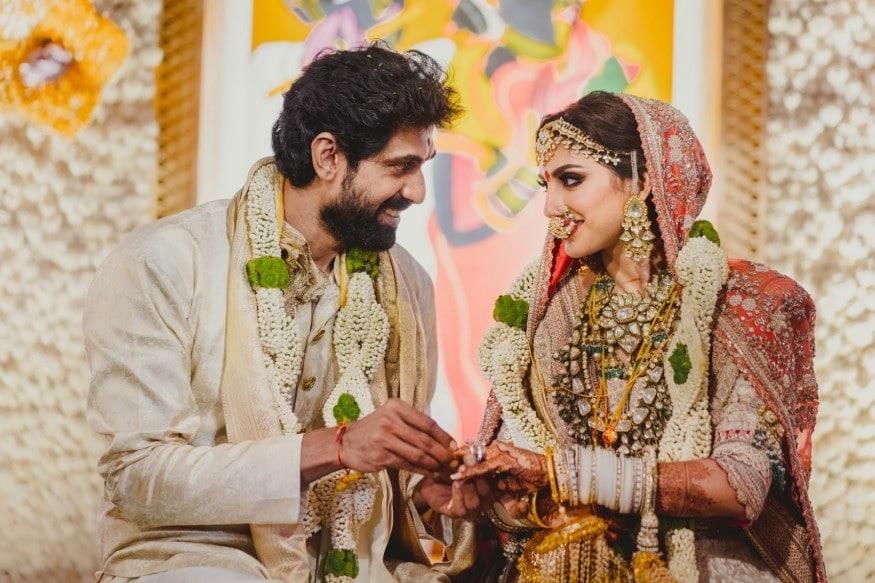 தெலுங்கு திரையுலகில் முன்னணி நடிகராக இருக்கும் ராணா தனது காதலி மிஹீகா பஜாஜை கடந்த 8-ம் தேதி திருமணம் செய்து கொண்டார்.