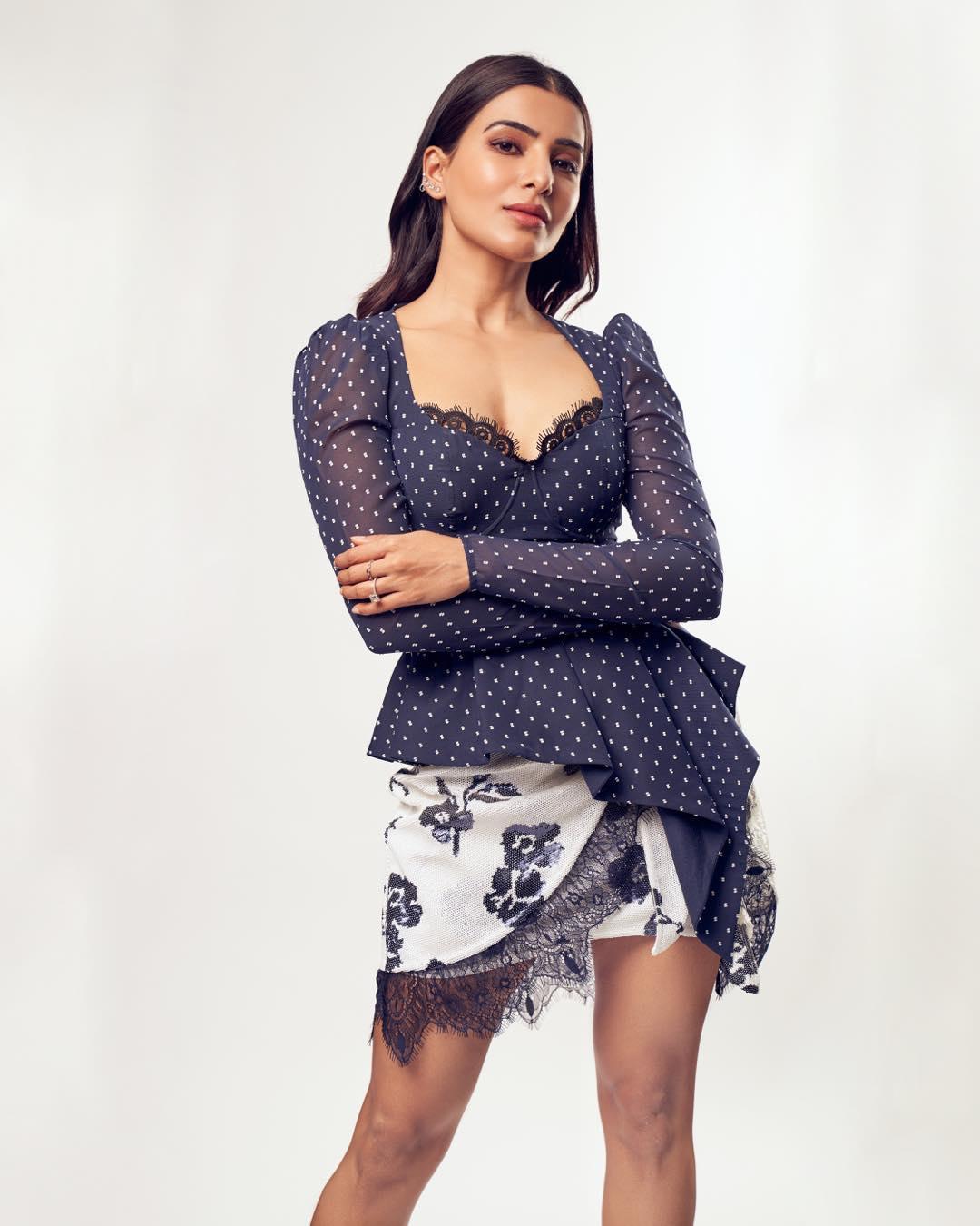 நடிகை சமந்தா (படங்கள் - இன்ஸ்டாகிராம்)
