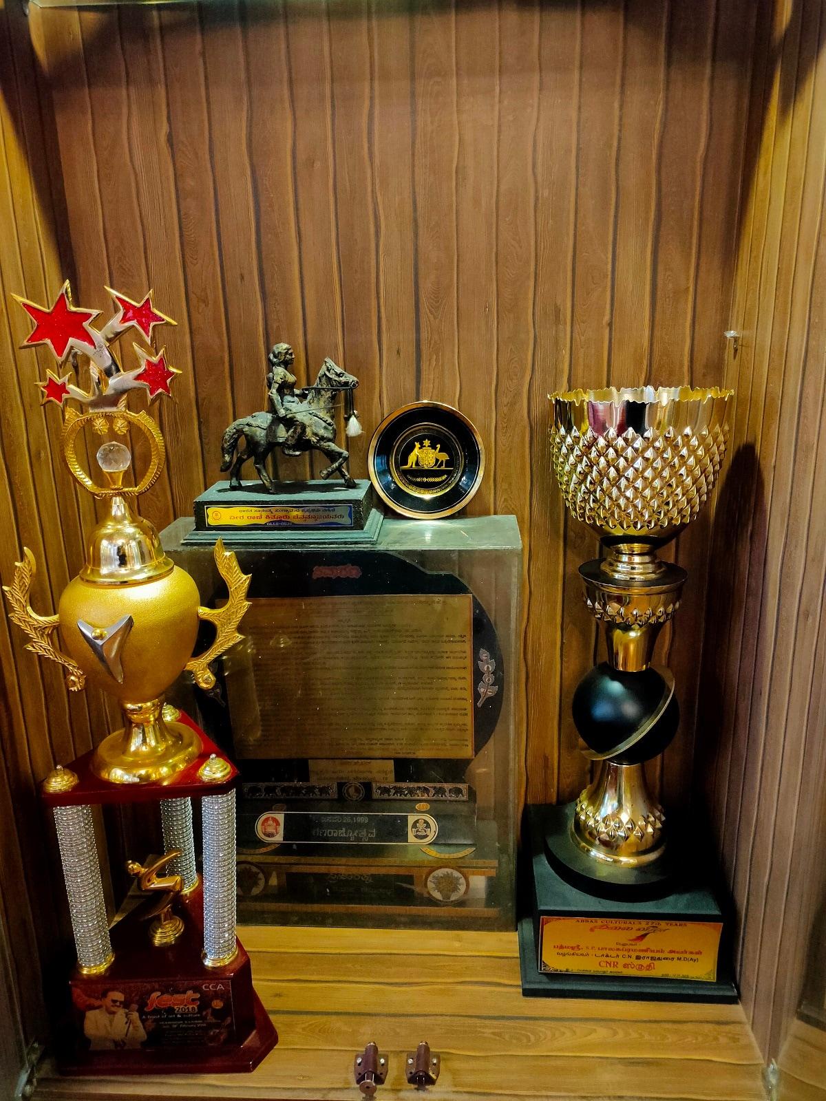 மறைந்த பாடகர் எஸ்.பி.பி. பெற்ற விருதுகள்