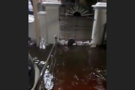 Cyclone Nivar   சென்னையில் தொடரும் கனமழை: கருணாநிதி இல்லத்துக்குள் புகுந்த மழை நீர்