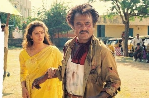 நடிகர் ரஜினியின் ஆட்டோ கெட்டப்