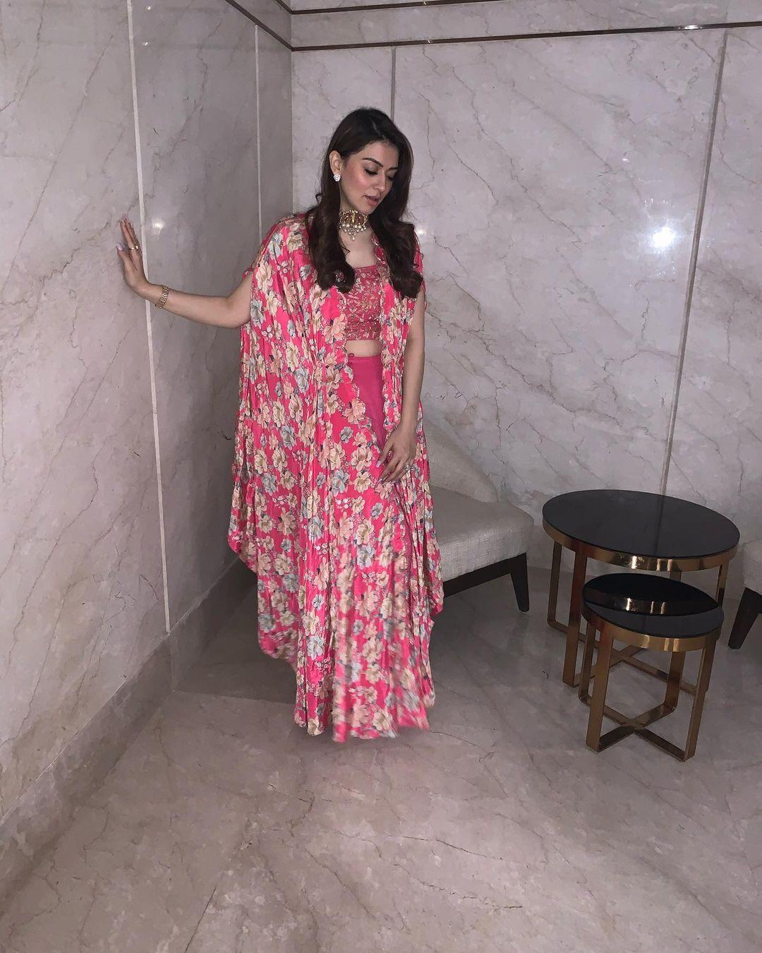 நடிகை ஹன்சிகா (Image : Instagram @ihansika)