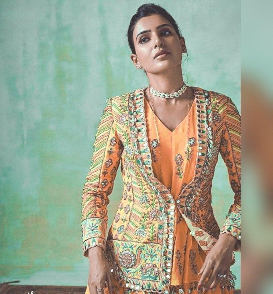நடிகை சமந்தா. (Image:Twitter)