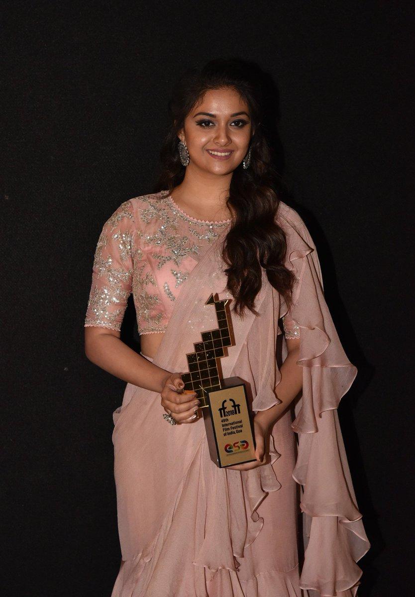 நடிகை கீர்த்தி சுரேஷ் (Image : Twitter )