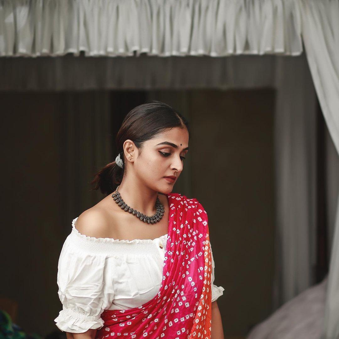நடிகை ரம்யா நம்பீசன் (Image : Instagram @ramyanambessan)