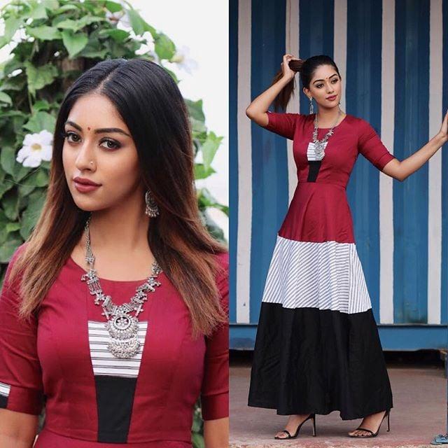 நடிகை அனு இம்மானுவேல் ( Image :Instagram @anuemmanuel)