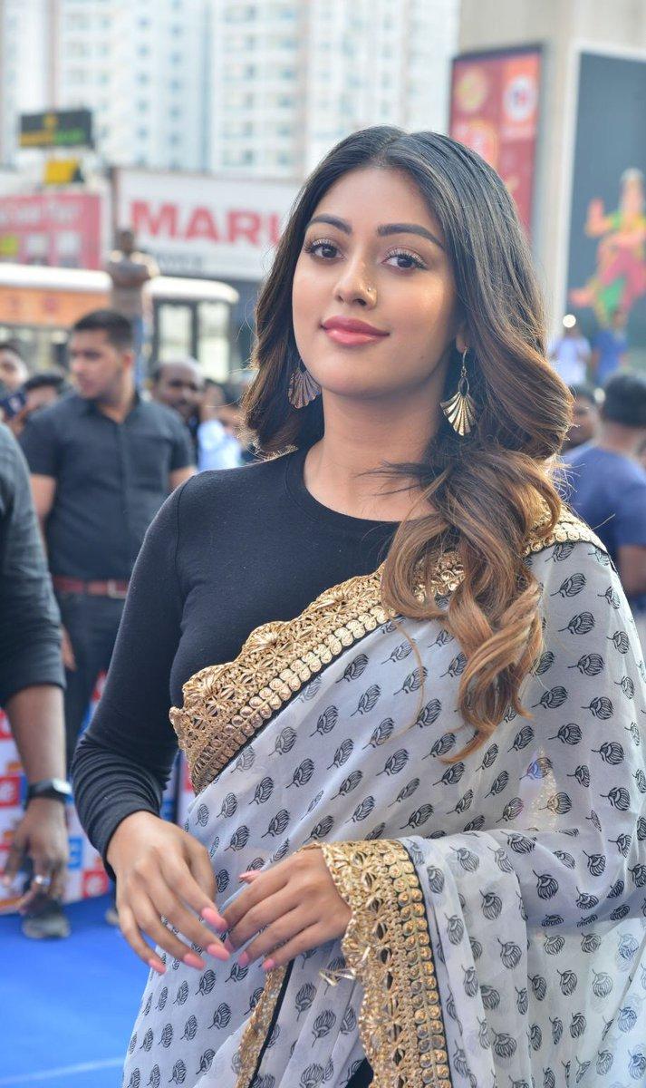 நடிகை அனு இம்மானுவேல் ( Image : Twitter @anuemmanuel)