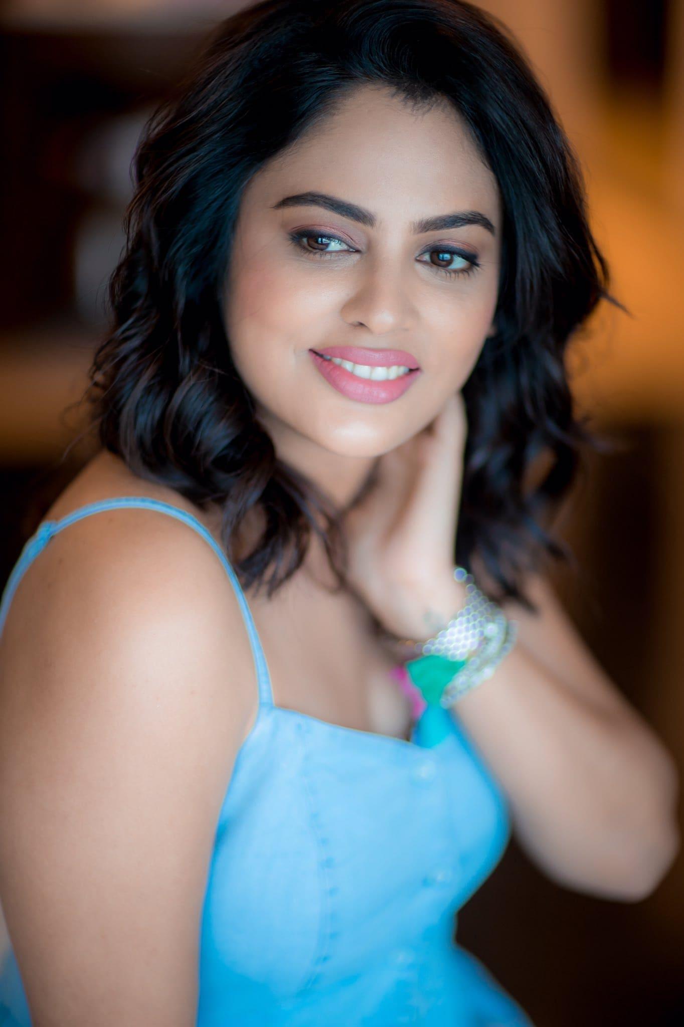 நடிகை நந்திதா ஸ்வேதா ( Image: Twitter @Nanditasweta)