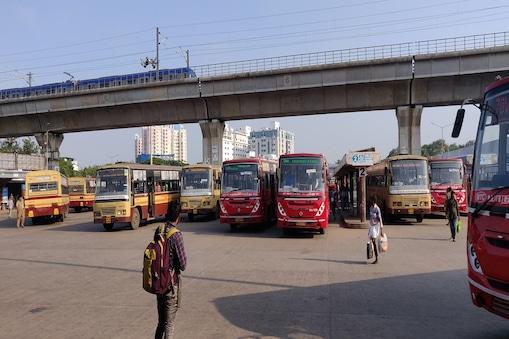 சென்னை கோயம்பேட்டில் 100 சதவீதம் பேருந்துகள் இயக்கம்...