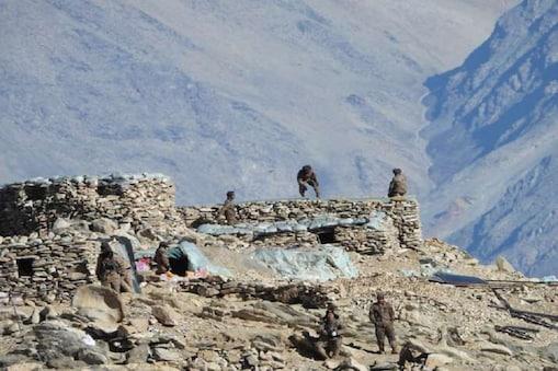 Ladakh Border  லடாக் எல்லை பகுதியில் இருந்து வீடியோவை வெளியிட்டது இந்திய ராணுவம்