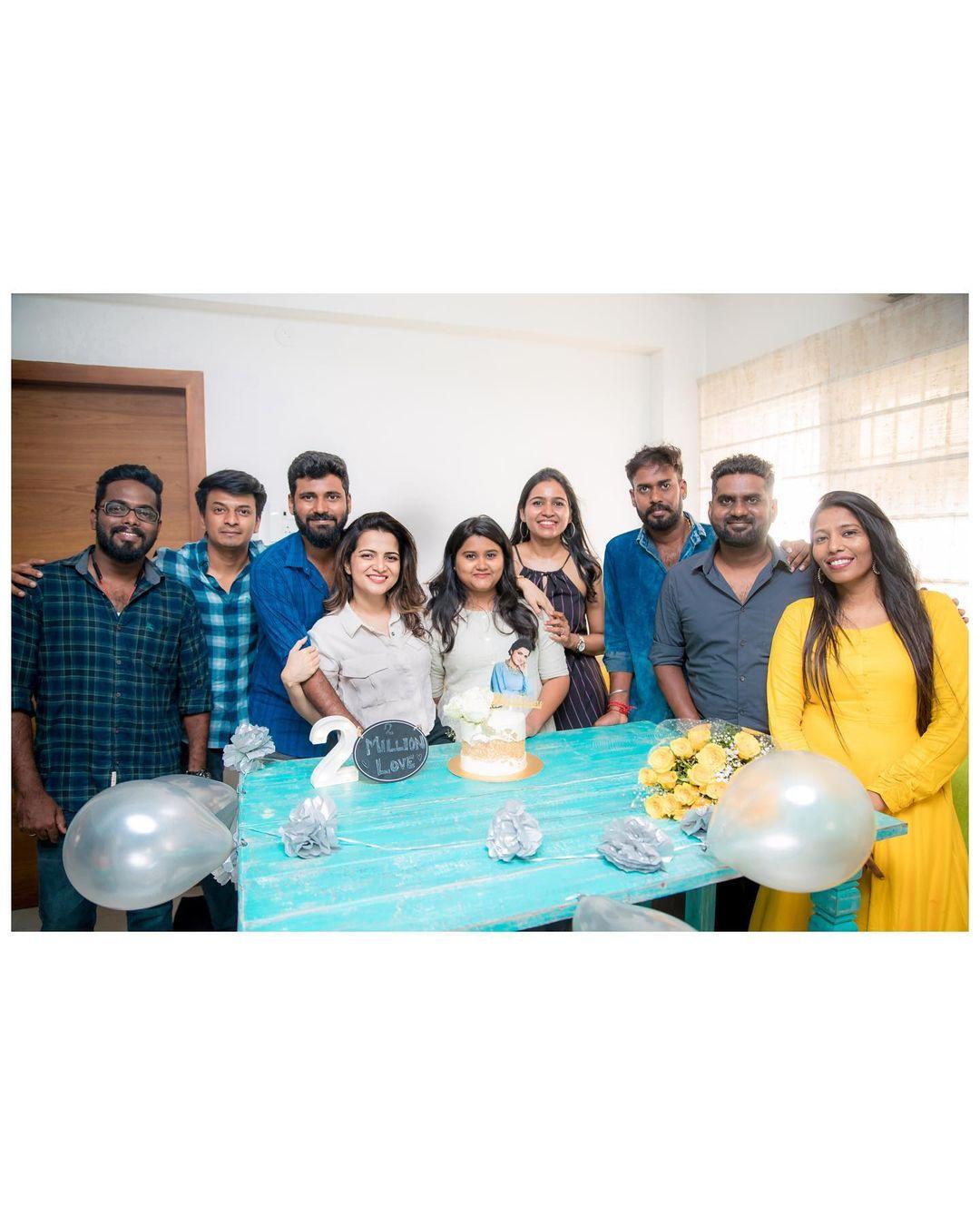 Vijay TV DD crossed 2 Million Followers on Instagram