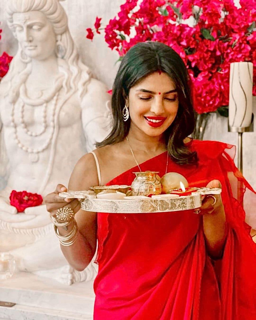 நடிகை ப்ரியங்கா சோப்ரா ( Image :Instagram @priyankachopra)
