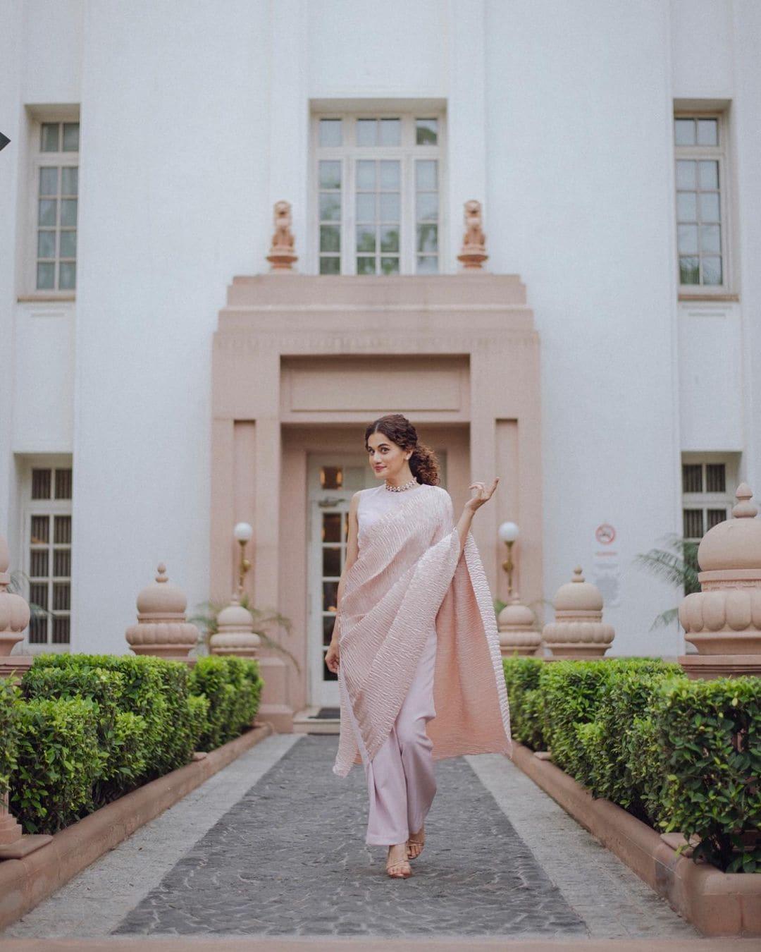 நடிகை டாப்ஸி (Image: Instagram @taapsee)