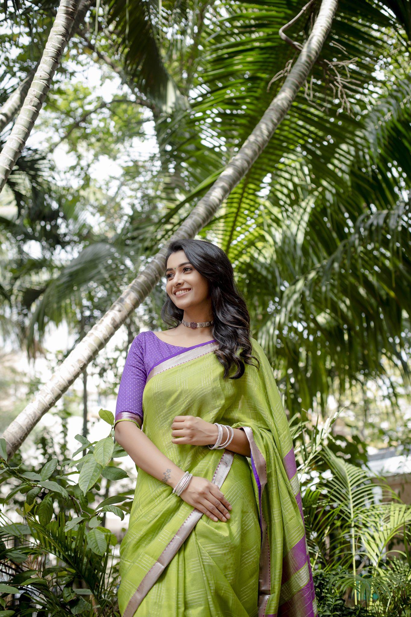 நடிகை ப்ரியா பவானி சங்கர் (Image :Twitter @priya_Bshankar)