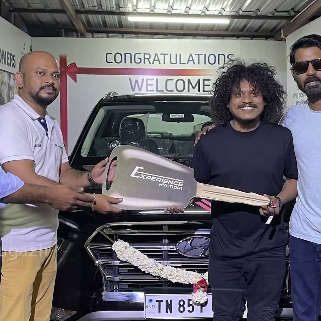 Cook With Comali Pugazh bought new car