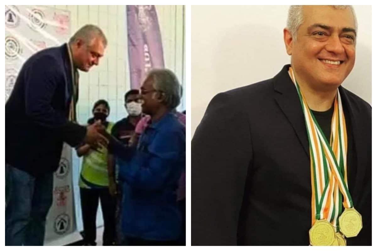 மாநில அளவிலான 46வது துப்பாக்கி சுடும் போட்டியில் நடிகர் அஜித் 3 தங்கம் 4 சில்வர் மேடல் பெற்று சாதனை படைத்துள்ளார்.