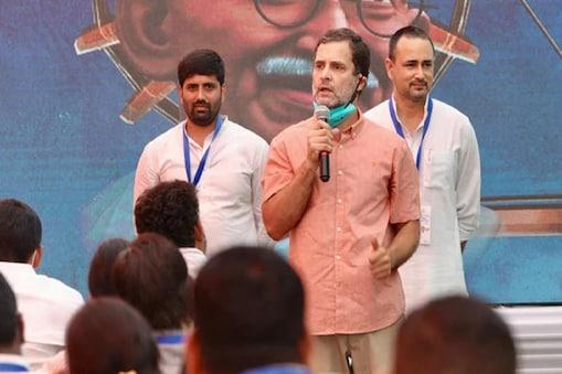 'முதல்வராக வேண்டும் என்றால் ஜோதிராதித்ய சிந்தியா காங்கிரஸுக்கு வர வேண்டும்!' - ராகுல் காந்தி