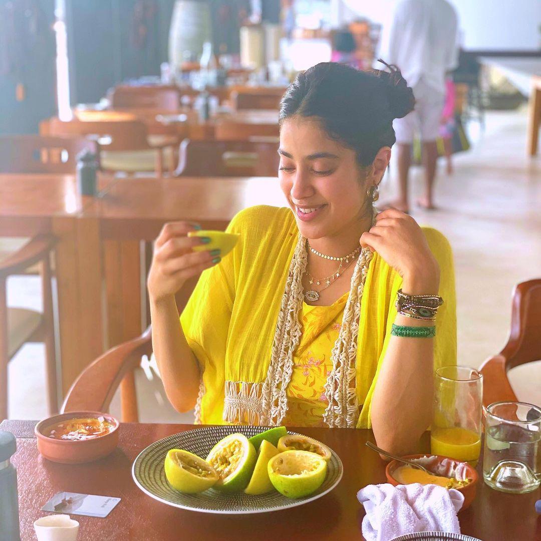 நடிகை ஜான்வி கபூர் ( Image :Instagram @janhvikapoor)