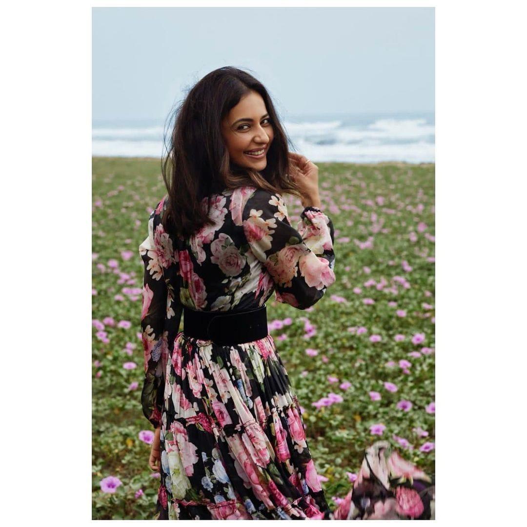 நடிகை ரகுல் ப்ரீத் ( Image :Instagram @rakulpreet)