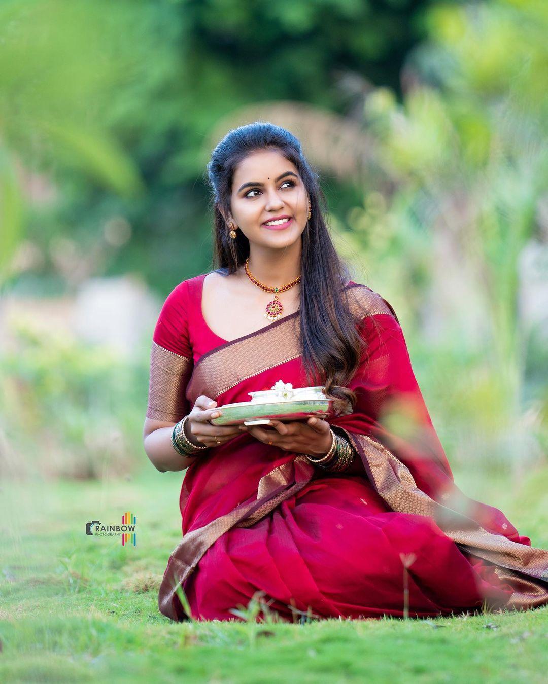 நடிகை சைத்ரா ரெட்டி ( Image: Instagram @chaitrareddy_official )