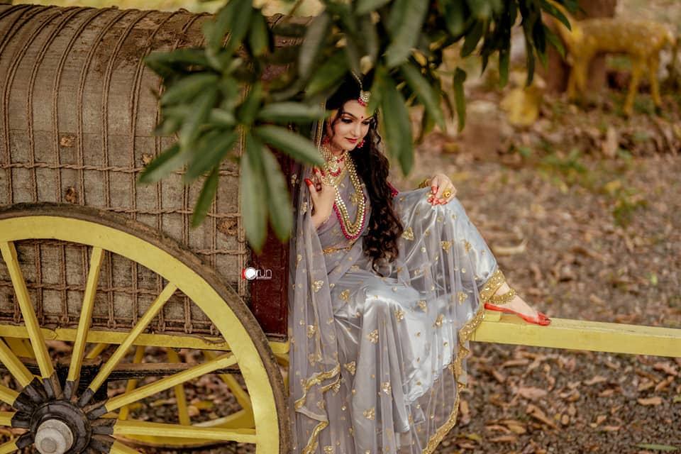 நடிகை சரண்யா மோகன் ( Image :Facebook @SaranyaMohan)