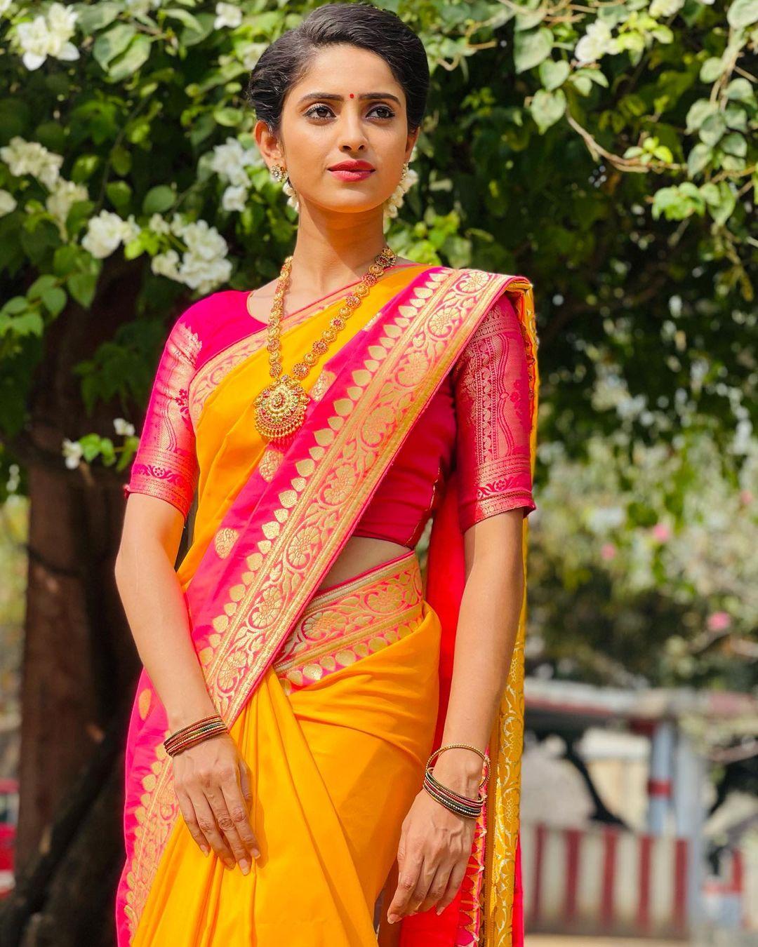 நடிகை ஆயிஷா ( Image: Instagram @aayesha6_official )