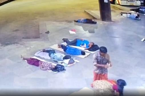வேறு ஒருவருடன் பழக்கம்: சென்னை கோயம்பேடு பேருந்துநிலையத்தில் பெண்ணை எரித்துக்கொன்ற கள்ளக்காதலன் - அதிர்ந்த பயணிகள்