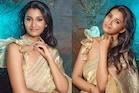 தங்கம் போல் மின்னும் நடிகை ப்ரியா பவானி சங்கர்!