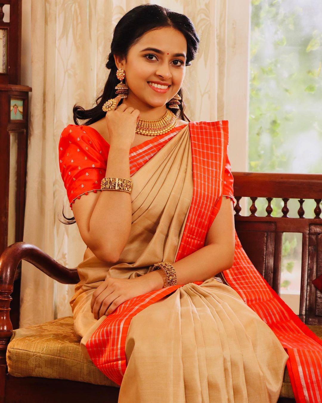 நடிகை ஸ்ரீ திவ்யா ( Image :Instagram @sd_sridivya)
