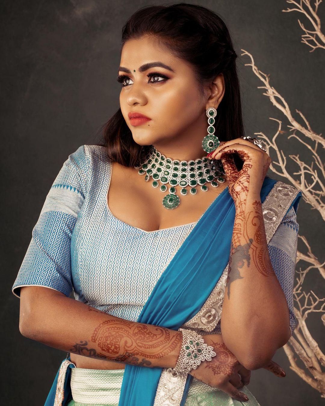 நடிகை ஷாலு ஷம்மு ( Image : Instagram @shalushamu )