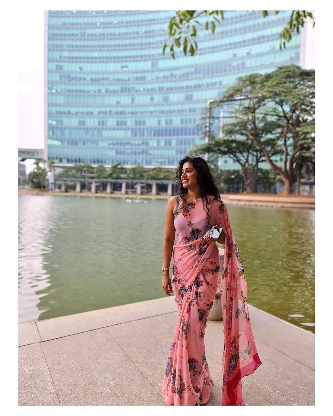 நடிகை ஷில்பா மஞ்சுநாத் ( Image :Instagram @shilpamanjunathofficial)