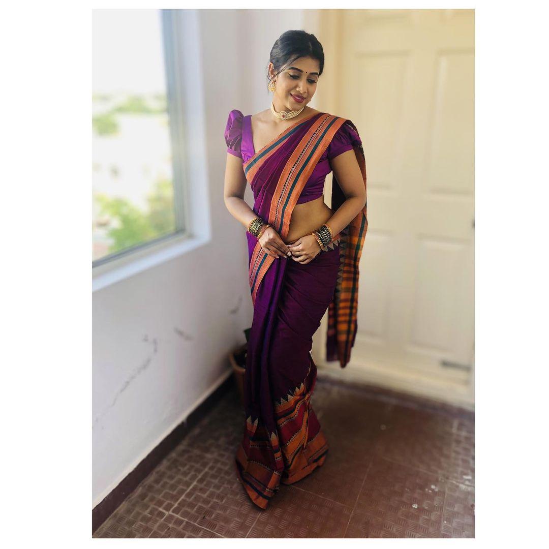 காளி திரைப்படத்தின் மூலம் தமிழ் சினிமாவில் அறிமுகமானவர் நடிகை ஷில்பா மஞ்சுநாத்.
