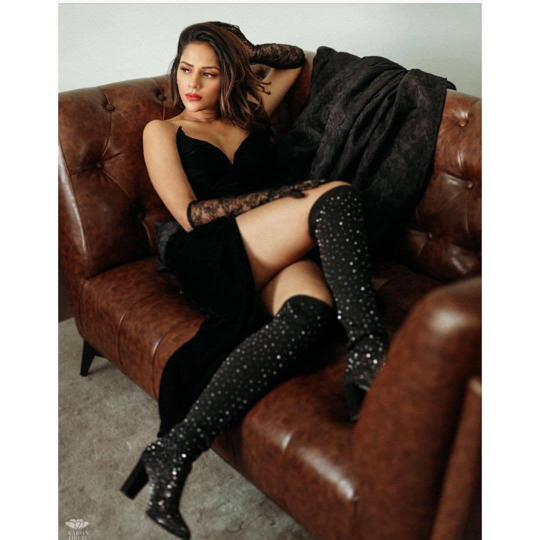 நடிகை ஐஸ்வர்யா தத்தா ( Image :Instagram @aishwarya4547)