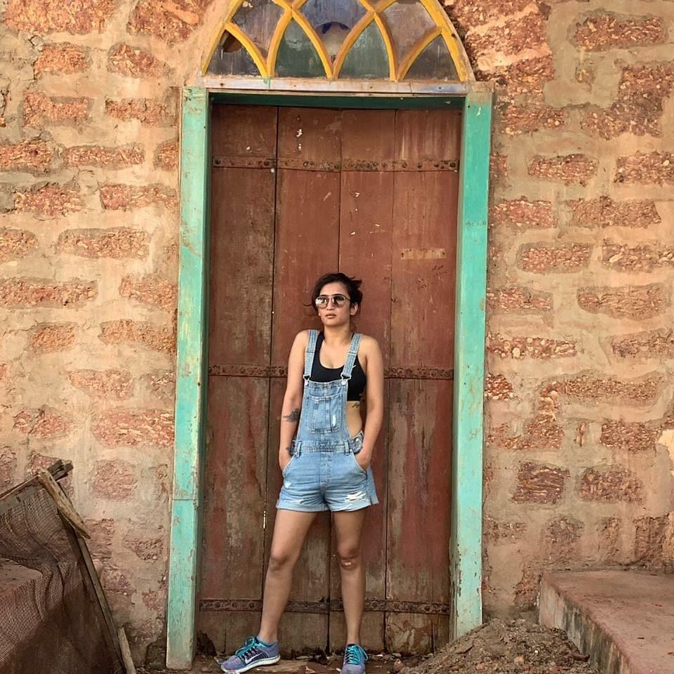 நடிகை அக்ஷரா ஹாசன் ( Image :Instagram @aksharaa.haasan )