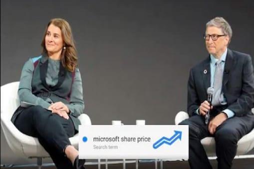 Bill Gates | பில் கேட்ஸ் தம்பதி விவாகரத்து அறிவிப்பு: 'Microsoft Share Price' என்று கூகுளில் தேடும் இந்தியர்கள்