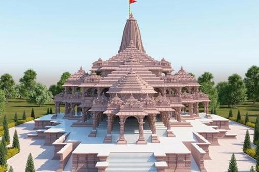 ராமர் கோவில் மாதிரிப்படம்
