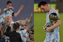 Messi| கோபா அமெரிக்கா தங்க காலணி விருதை தட்டிச்சென்ற மெஸ்ஸி..