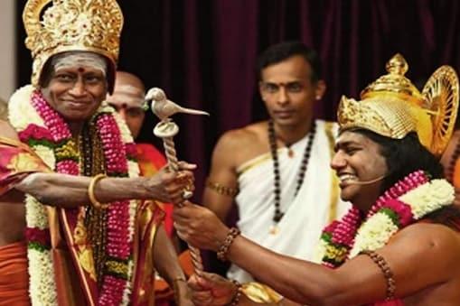 மதுரை ஆதீனம் - நித்யானந்தா