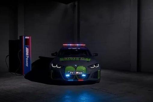 BMW முதல் முழு எலெக்ட்ரிக் பாதுகாப்பு கார்