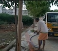 சொந்த செலவில் மரக்கன்றுகள் நடும் அருப்புக்கோட்டை ஓய்வுபெற்ற ஆசிரியர்